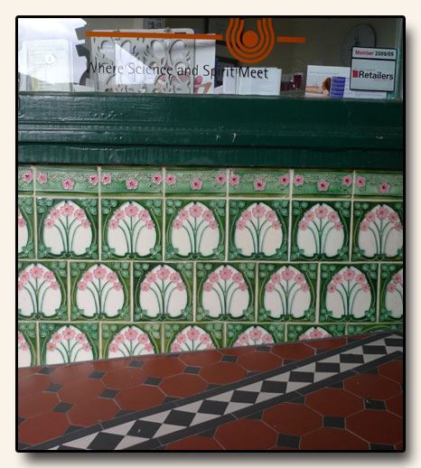 Porteous Tiles on Cuba Street Shopfront in Wellington, New Zealand