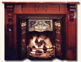 Originally Designed To Be Used In Victorian Edwardian Cast Iron Register Fireplaces Porteous Fireplace Tile Sets Will Make A Stunning Contribution Any